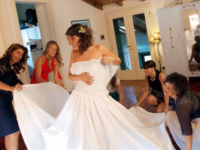 Il matrimonio di Mattia e Giulia a Pazzon, Verona 11
