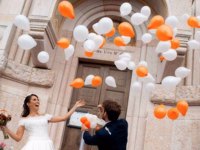 Il matrimonio di Mattia e Giulia a Pazzon, Verona 25