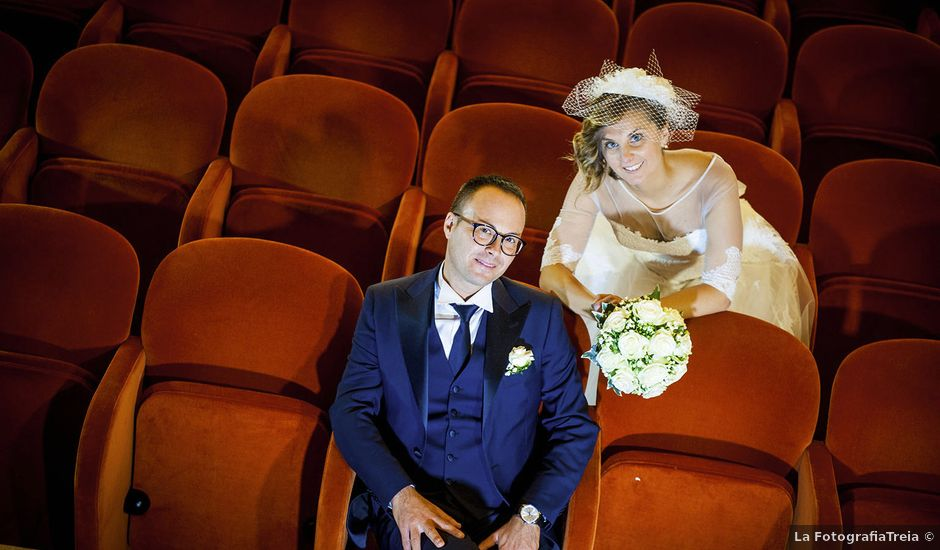 Il matrimonio di Riccardo e Pamela a Treia, Macerata
