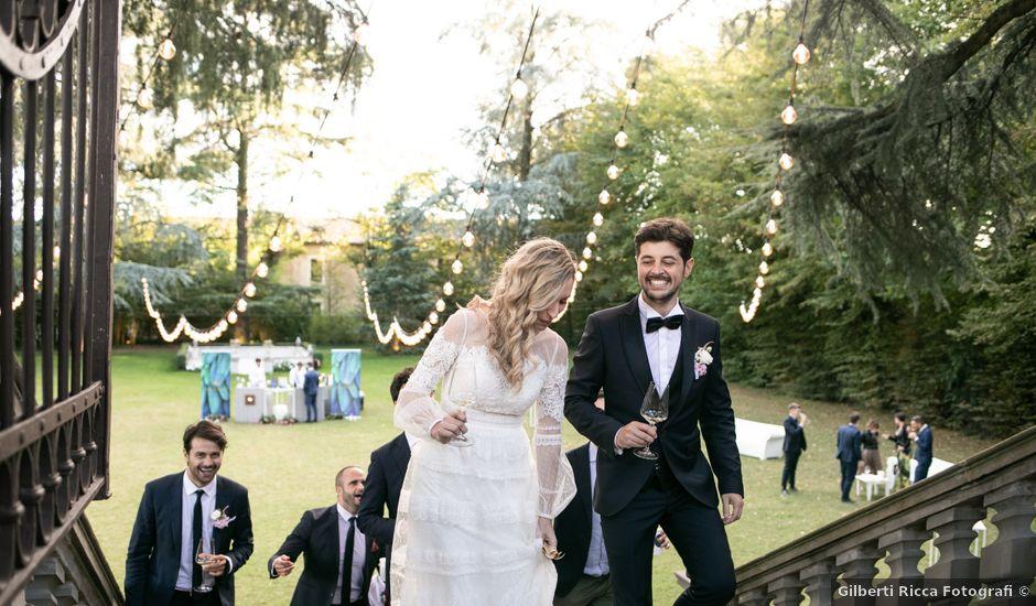 Il matrimonio di Linda e Diego a Passirano, Brescia