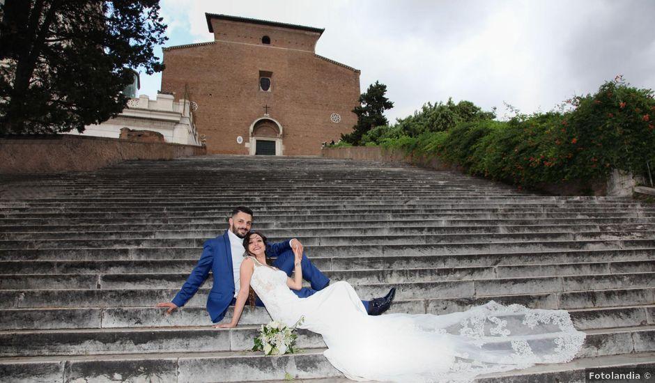 Il matrimonio di Simone e Denise a Roma, Roma