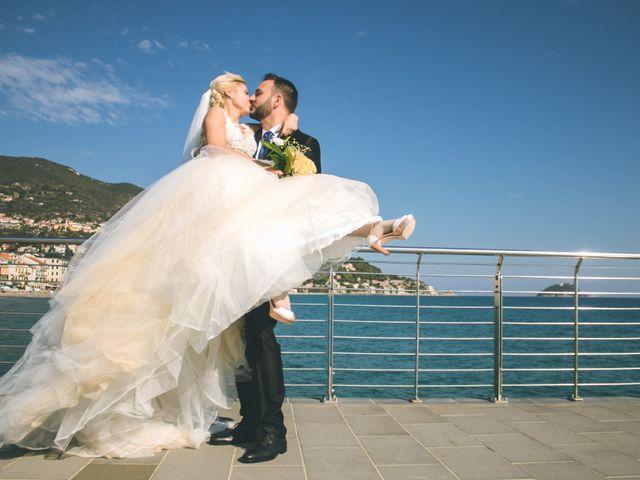 Il matrimonio di Abel e Daniela a Alassio, Savona 115