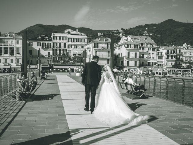 Il matrimonio di Abel e Daniela a Alassio, Savona 118