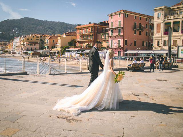 Il matrimonio di Abel e Daniela a Alassio, Savona 120