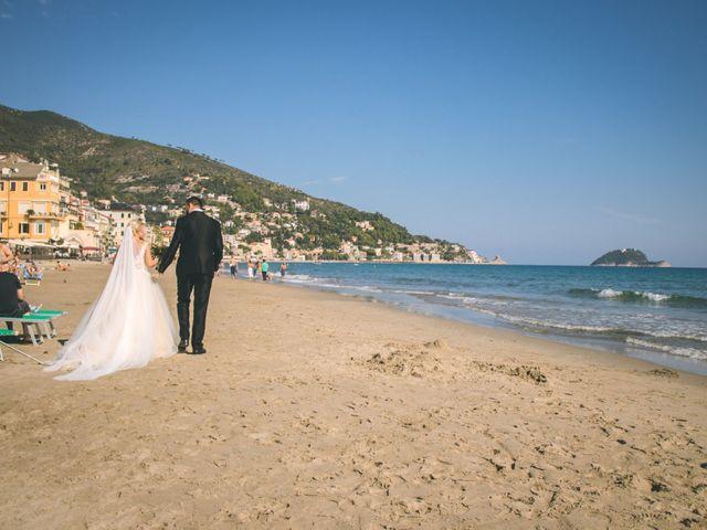 Il matrimonio di Abel e Daniela a Alassio, Savona 121