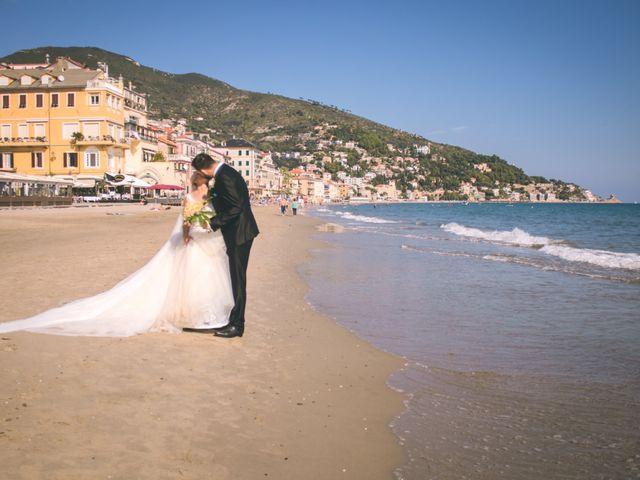 Il matrimonio di Abel e Daniela a Alassio, Savona 126