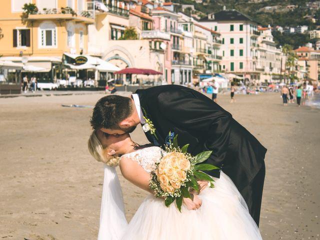 Il matrimonio di Abel e Daniela a Alassio, Savona 130