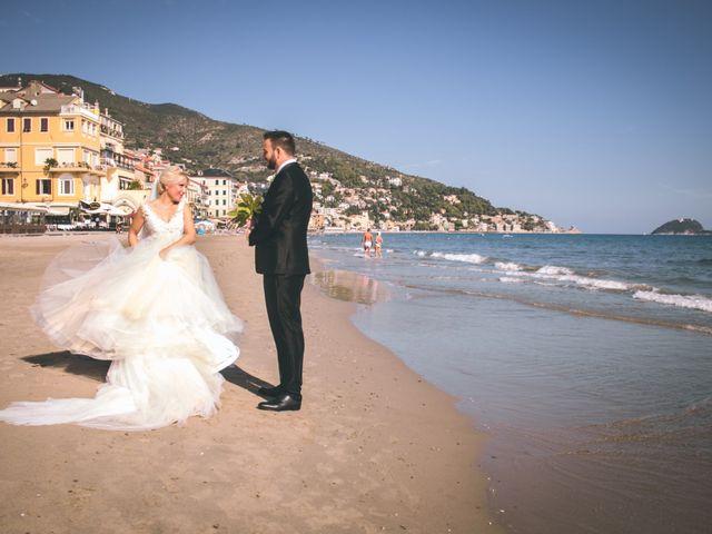 Il matrimonio di Abel e Daniela a Alassio, Savona 133