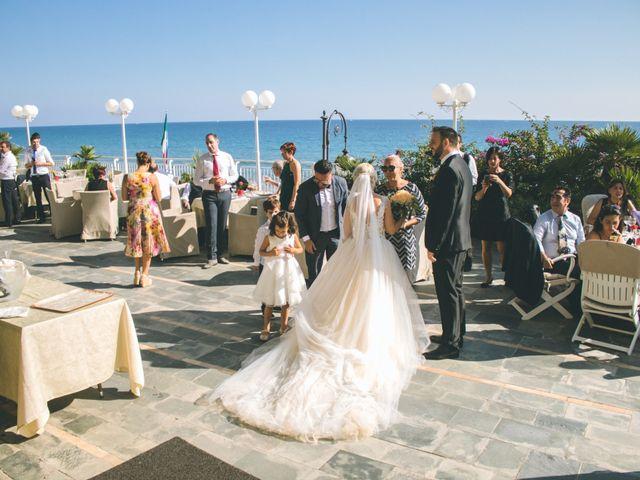 Il matrimonio di Abel e Daniela a Alassio, Savona 173