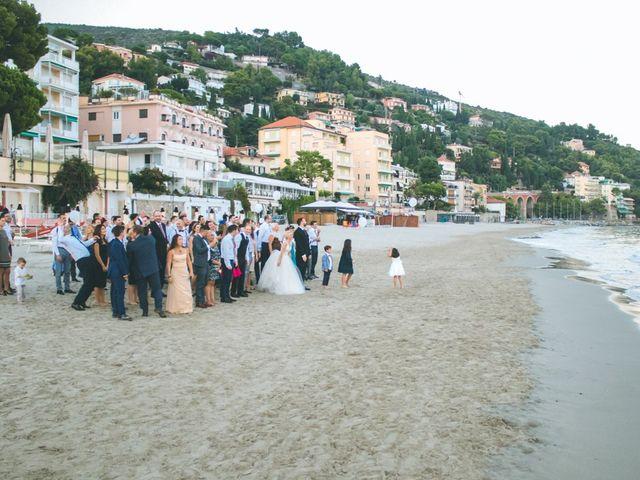 Il matrimonio di Abel e Daniela a Alassio, Savona 251