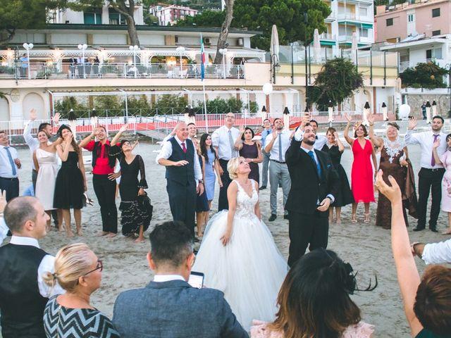 Il matrimonio di Abel e Daniela a Alassio, Savona 253