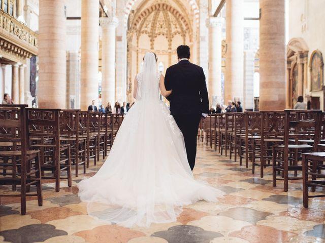 Il matrimonio di Davide e Simona a Verona, Verona 30