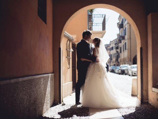 Il matrimonio di Davide e Simona a Verona, Verona 58