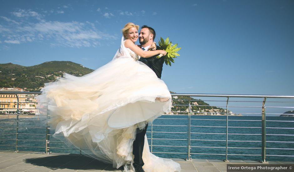 Il matrimonio di Abel e Daniela a Alassio, Savona