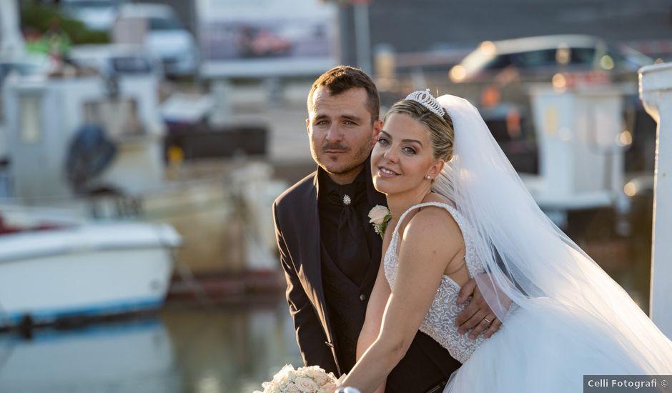 Il matrimonio di Christian e Sara a Santa Marinella, Roma