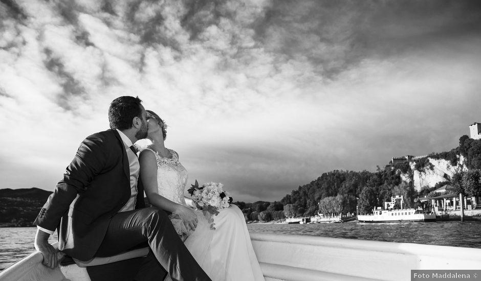 Il matrimonio di Tommaso e Elisabetta a Angera, Varese