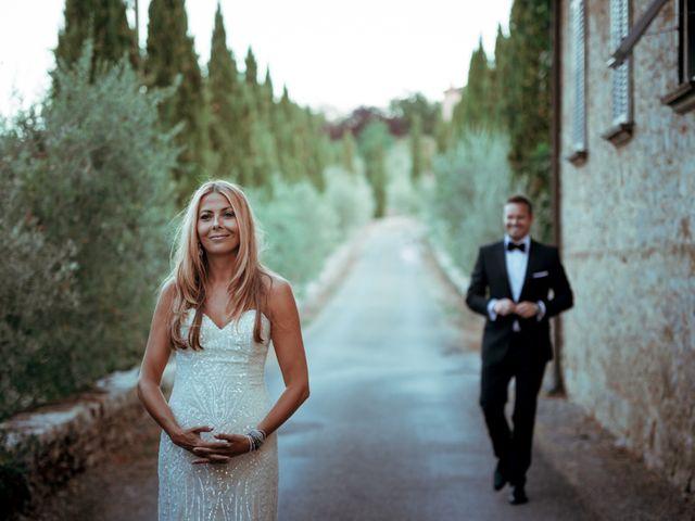 Le nozze di Mark e Lauren