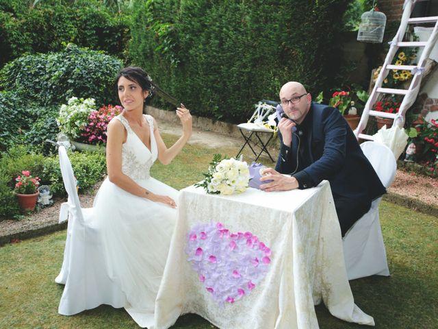 le nozze di Melissa e Mattia