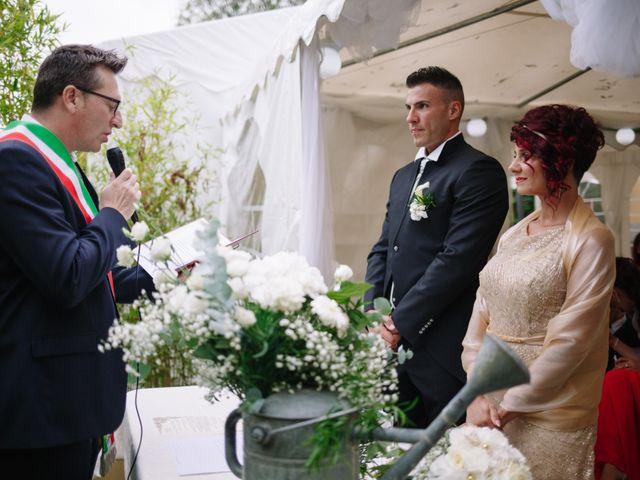 Il matrimonio di Alessio e Lorella a Tornaco, Novara 105