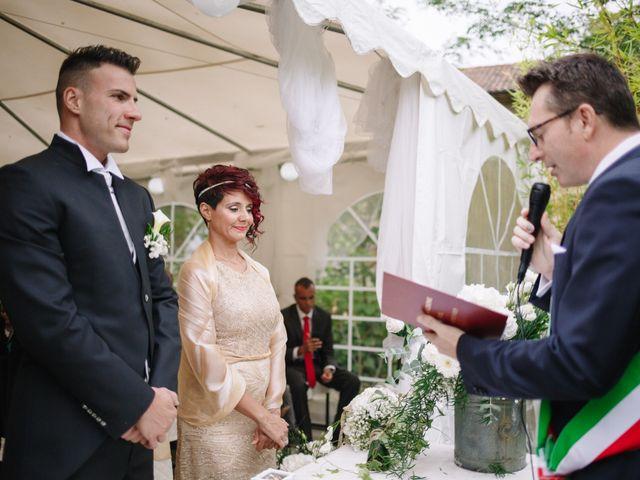 Il matrimonio di Alessio e Lorella a Tornaco, Novara 107