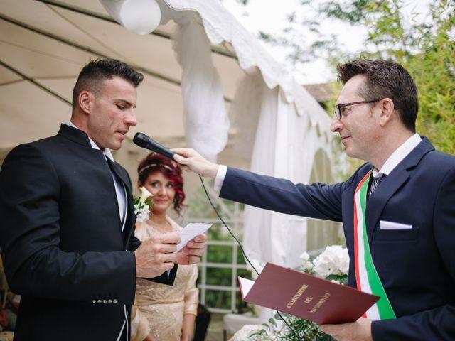 Il matrimonio di Alessio e Lorella a Tornaco, Novara 110