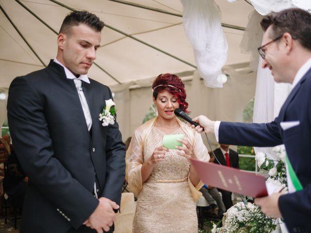 Il matrimonio di Alessio e Lorella a Tornaco, Novara 115