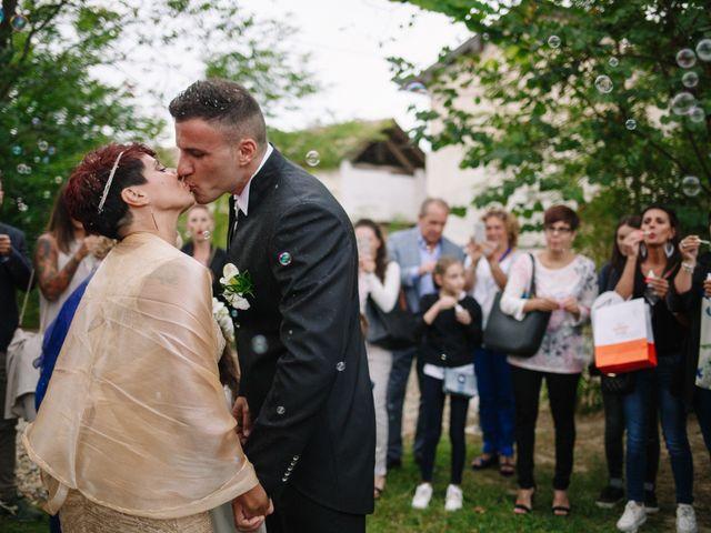 Il matrimonio di Alessio e Lorella a Tornaco, Novara 142