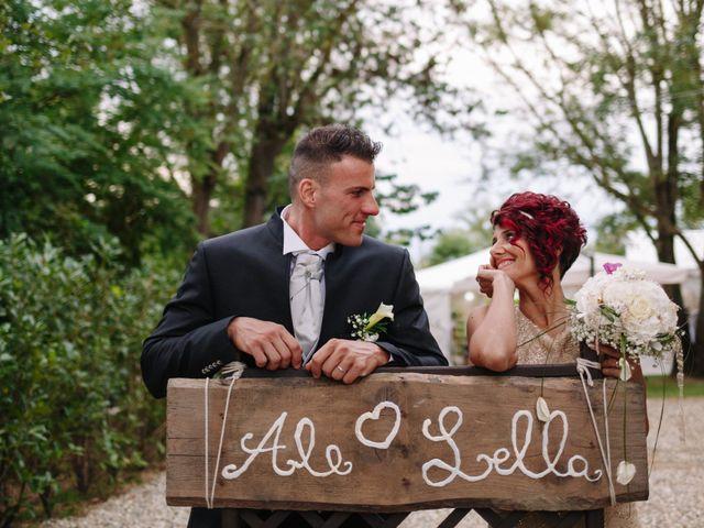le nozze di Lorella e Alessio