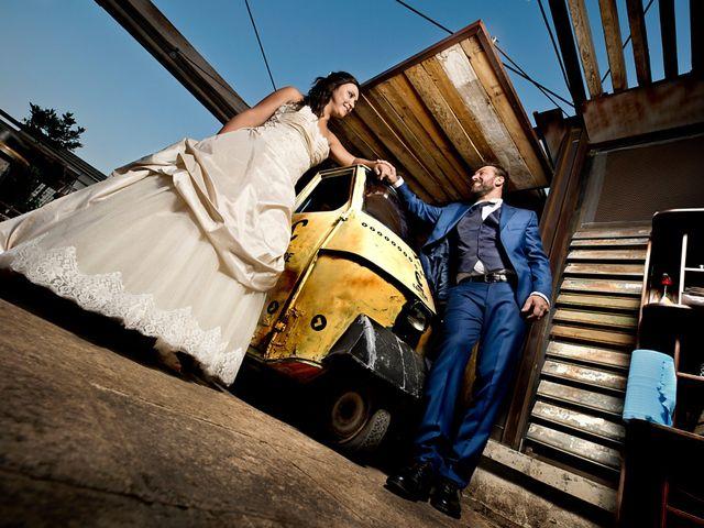 le nozze di Sara e Cristian