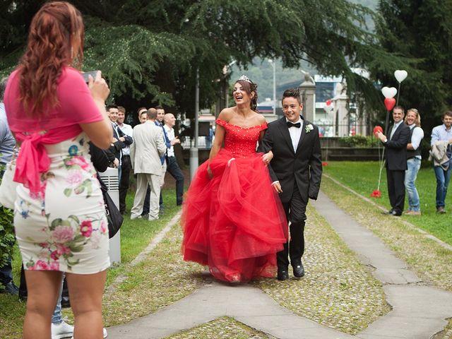 Il matrimonio di Katy e Mario a Villa Carcina, Brescia 27