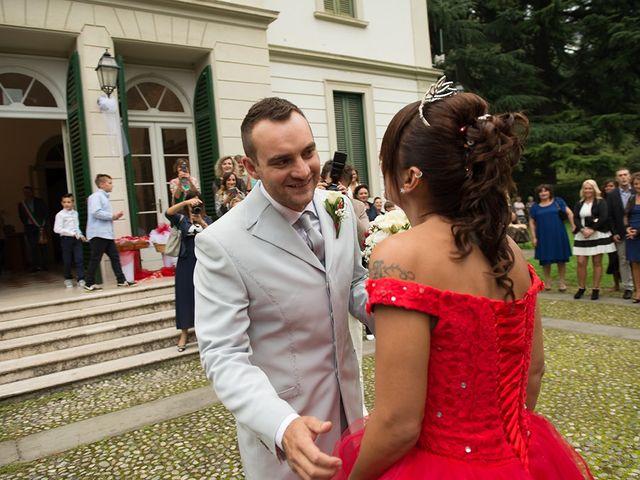 Il matrimonio di Katy e Mario a Villa Carcina, Brescia 28