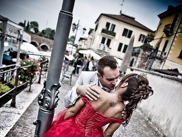 Il matrimonio di Katy e Mario a Villa Carcina, Brescia 35