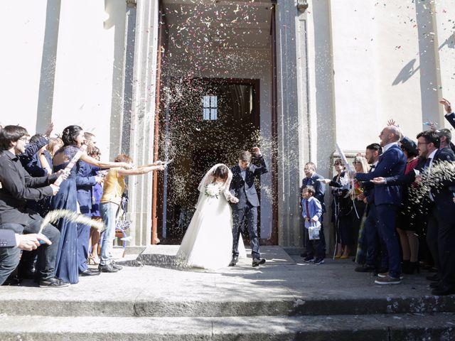 Il matrimonio di Erica e Paolo a Oriolo Romano, Viterbo 25