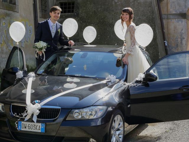 Il matrimonio di Erica e Paolo a Oriolo Romano, Viterbo 32