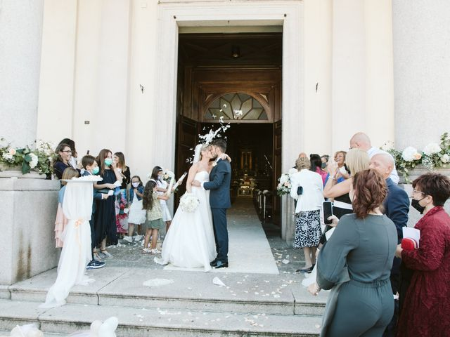 Il matrimonio di MANUEL e VALENTINA a Cernusco Lombardone, Lecco 421