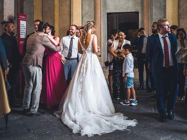 Il matrimonio di Vincenzo e Giorgia a Milano, Milano 20