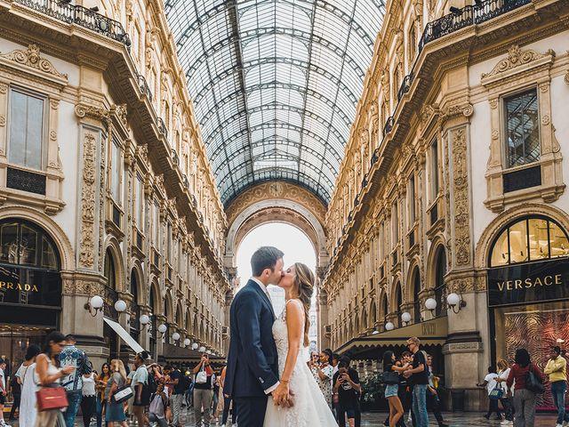 Il matrimonio di Vincenzo e Giorgia a Milano, Milano 28