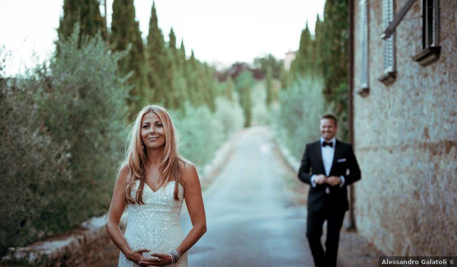 Il matrimonio di Lauren e Mark a Siena, Siena