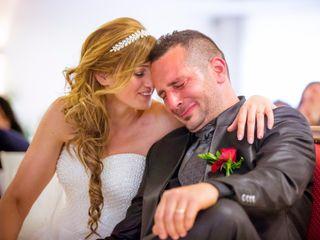 Le nozze di Giampiero e Romina