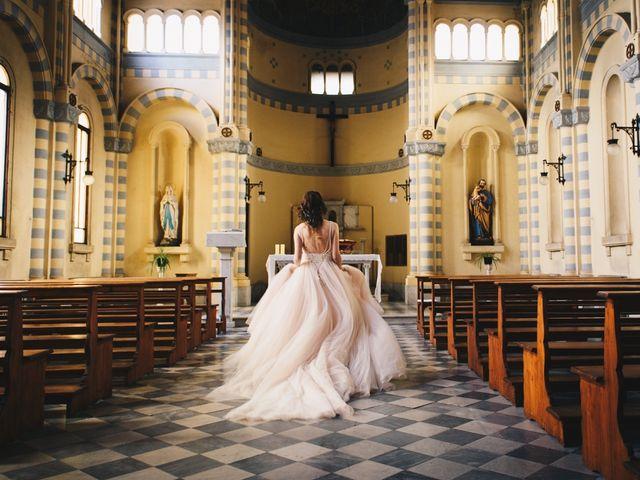 Il matrimonio di Lorenzo e Martina a Borghetto di Vara, La Spezia 67
