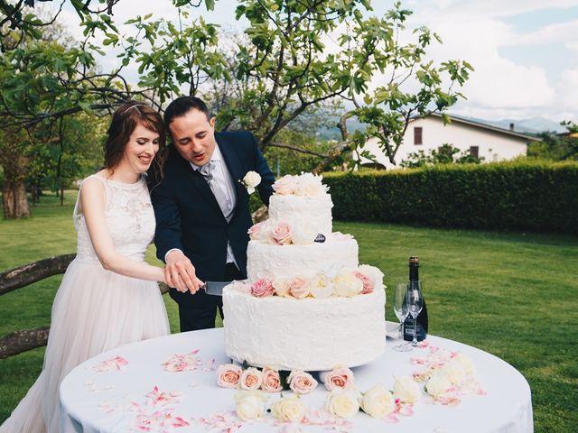 Il matrimonio di Lorenzo e Martina a Borghetto di Vara, La Spezia 96