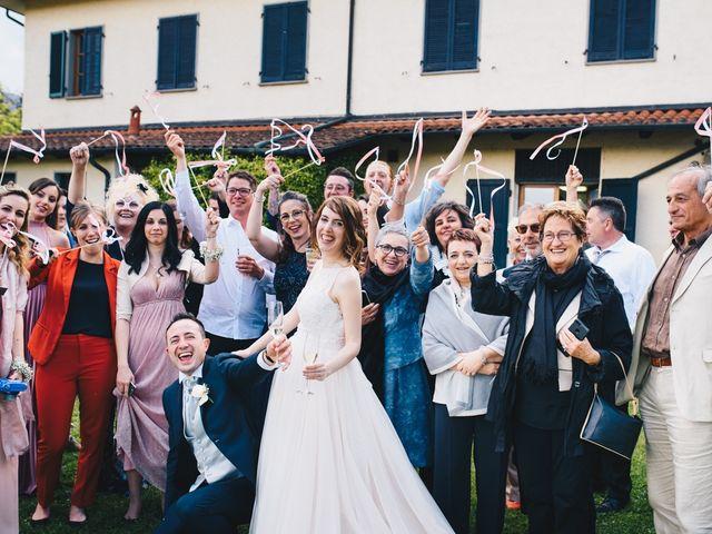 Il matrimonio di Lorenzo e Martina a Borghetto di Vara, La Spezia 99