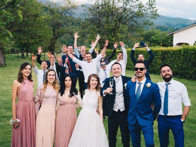 Il matrimonio di Lorenzo e Martina a Borghetto di Vara, La Spezia 100