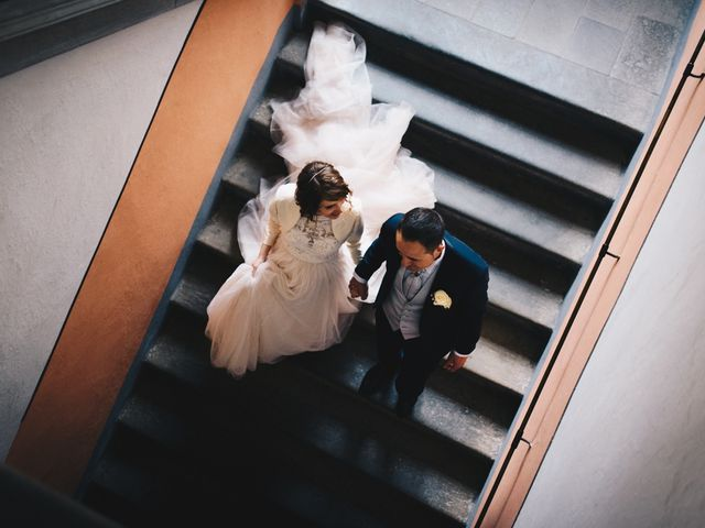 Il matrimonio di Lorenzo e Martina a Borghetto di Vara, La Spezia 68