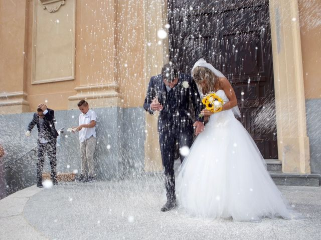 Il matrimonio di Marco e Sara a Terruggia, Alessandria 9