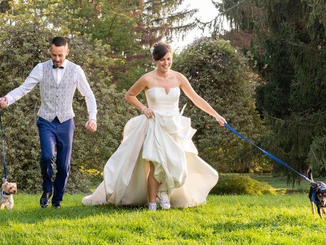 Il matrimonio di Omar e Jessica a Uboldo, Varese 28