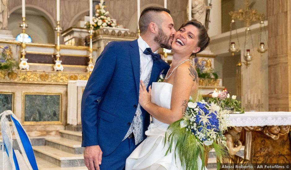 Il matrimonio di Omar e Jessica a Uboldo, Varese