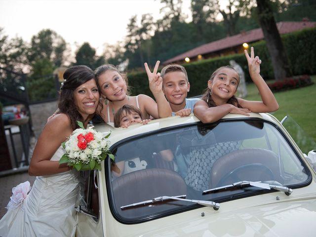 Il matrimonio di Federico e Daniela a Uboldo, Varese 33