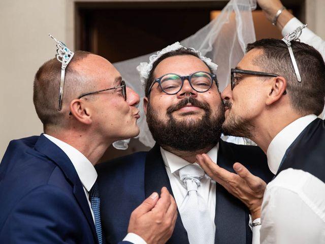 Il matrimonio di Simone e Marina a Bovezzo, Brescia 101