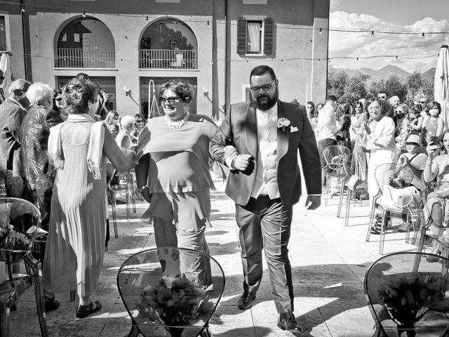 Il matrimonio di Simone e Marina a Bovezzo, Brescia 123